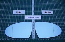 Außenspiegel Spiegelglas Ersatzglas BMW M5 Typ E60 ab 2007 Li oder Re asph Blau