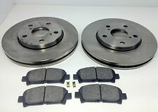 TOYOTA MR2 NON TURBO FRONT BRAKE DISCS AND PADS 1992-1999