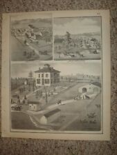 OREGON MARYLAND TOWNSHIP OGLE COUNTY ILLINOIS PRINT NR