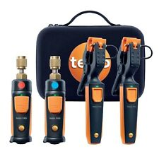 Testo 0563 0002 Refrigeration Smart & Wireless Probe Kit. 549i & 115i (2x), Case