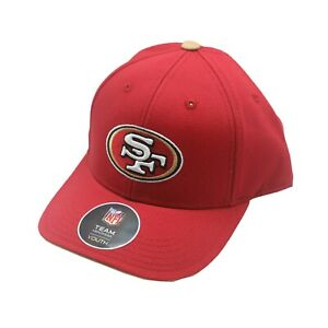 San Francisco 49ers Youth Boys One Size Fits Most Adjustable hook & loop Hat Cap