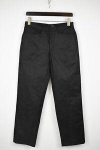 JUST CAVALLI Men's (EU) 46 or ~MEDIUM Straight Wax Look Trousers 33315_GS
