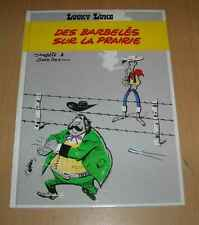LUCKY LUKE DES BARBELES SUR LA PRAIRIE CARTONNE