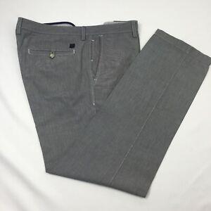 """HUGO BOSS Regular Fit active Pants Grey/Blue tint 36"""" X 32"""""""