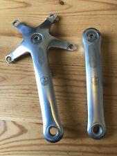 Campagnolo C Record Crankset 170mm, 135mm, Circa 1994, 8 Speed, Vgc/Ex