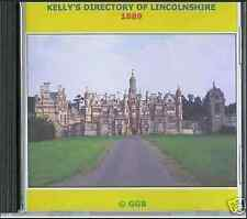 GENEALOGY DIRECTORY OF LINCOLNSHIRE 1889 CD ROM