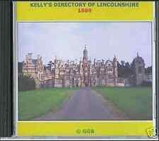 Directory di genealogia di Lincolnshire 1889 CD ROM