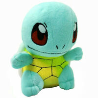 Pokemon Squirtle Stand Figures Plush Soft Toy Stuffed Doll 6'' Kid Baby Gift