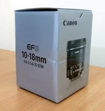 CANON EF-S 10-18 mm f/4.5-5.6 IS STM gran angular de lente de zoom