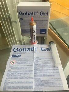 GEL GOLIATH BASF ANTI CAFARDS/BLATTES/NUISIBLES 35G aiguille et poussoir