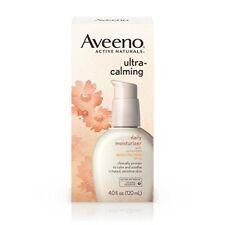 Aveeno Ultra-Calming Daily Moisturizer, SPF 15, 4 oz (7 Pack)