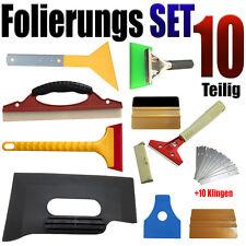 10 Teiligen Folierung Set – Rakel Set - Vollfolierung - Auto Folien