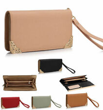 Faux Leather Wristlet Purses & Wallets for Women