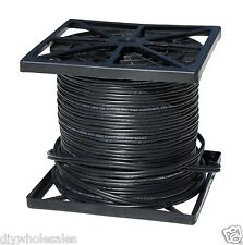 1000FT RG59 Siamese Cable with 18/2 Power and 24/2 DATA Black color