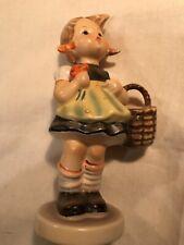 Vintage Hummel, Girl with Basket Figurine, 98/0, West Germany