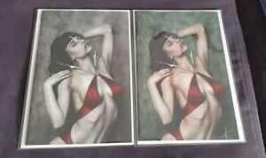 Vampirella #12 Carla Cohen B&W Virgin Variant Set NM