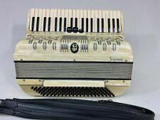 """Soprani Italian piano accordion 17"""" keyboard 3/4 reeds"""