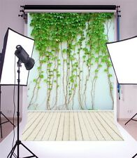 3x5ft Ivy Covered Wall Vinyl Photography Backdrop Baby Background Studio Props
