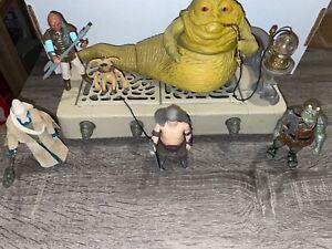 "Vintage Star Wars ROTJ 1983 Jabba's Throne Room ""Complete""  *Very Nice* - Kenner"
