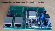 Bastelprojekt: CAN Gateway für Hoval TTE Geräte (Smarthome/connect)