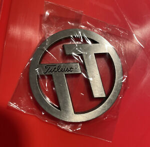 TEAM TITLEIST BALL MARKER metal silver RARE NEW ProV1