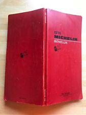 Guide Michelin Benelux 1976