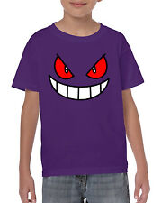 Gengar Cara Pokemon SERIE DE TV Catch em Todo poke Camiseta Go TEE TOP (Camiseta