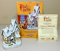 David Winter Cottages - Fred's Home - Special for Christmas 1991 w/BOX & COA