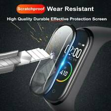 3D Full Cover Tempered Glass Screen Protector For Xiaomi Mi Band 5 Smart Watch ❤