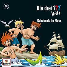 CD * DIE DREI ??? (FRAGEZEICHEN) KIDS - 66 - GEHEIMNIS IM MEER  # NEU OVP =