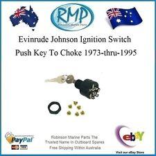 1 x Brand New Ignition Switch Suits Evinrude Johnson 1973-thru-1995 # 393301
