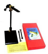 Combo Fly Vise/Pedestal base, By Fishnett CBFF102 with 2 Extra Jaws Brand New