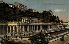Karlsbad Karlovy Tschechien Česká 1936 Mühlbrunkolonnade gel. Johanngeorgenstadt