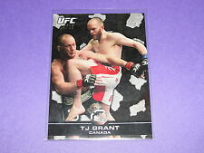 2013 Topps UFC Bloodlines TIMOTHY TJ GRANT #48 Black Variant/25 Canada Jiu-Jitsu