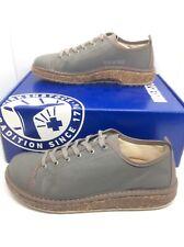 BIRKENSTOCK Womens Santa Cruz Gray Canvas Sneakers Shoes Sz 7 EU38 N ZB6-975