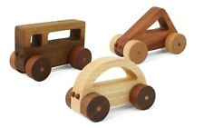 Wooden Triangle Shape Car