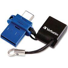Verbatim USB-A/USB-C Drive 16GB Blue 99153