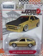 Jada 2018 Metals JDM Tuners 1986 Toyota Trueno (AE86) 1:64