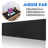 🔥 Extended Large Black Anti-slip Mouse Pad Gaming Keyboard Kedpad Mat PC Laptop
