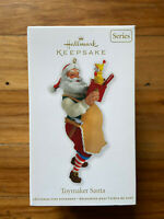 Hallmark Keepsake Christmas Ornament - Toymaker Santa - 2012 - in Box