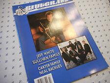 Bluegrass Unlimited Magazine February 2000 Jim White Carter Family