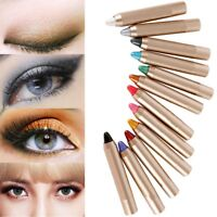 Natürliche Matte Glitter Lidschatten Palette Lidschatten Stift 12 Farben Makeup-