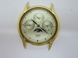 Timex Quartz 377 BA Cell Stainless Steel Watch Head