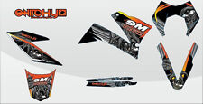 KIT ADESIVI GRAFICHE MONSTER KTM 640 SMC 2005 2006 2007 DEKOR DECALS