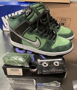 Nike Dunk High Pro SB Brut Green 2007 - Size 9
