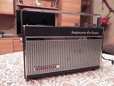 Telefunken bajazzo de Luxe 201   Kofferradio + Universal Netzteil  Bj.1968/70