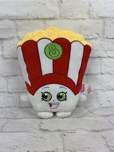 "SHOPKINS Plush POPPY POPCORN 11"" Hugger Pillow Stuffed Toy"