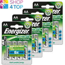 16 ENERGIZER RECHARGEABLE AA HR6 BATTERIES POWER PLUS 1.2V 2300mAh MIGNON STILO