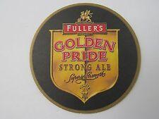 UK Beer Bar Mat Coaster ~ Fuller's Golden Pride Strong Ale <> Superior Strength