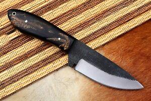 """8"""" MH KNIVES CUSTOM HANDMADE CARBON STEEL FULL TANG HUNTING/SKINNER KNIFE CS-09N"""